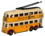 NQ1003  Oxford Diecast -  Newcastle B. U. T. Trolleybus